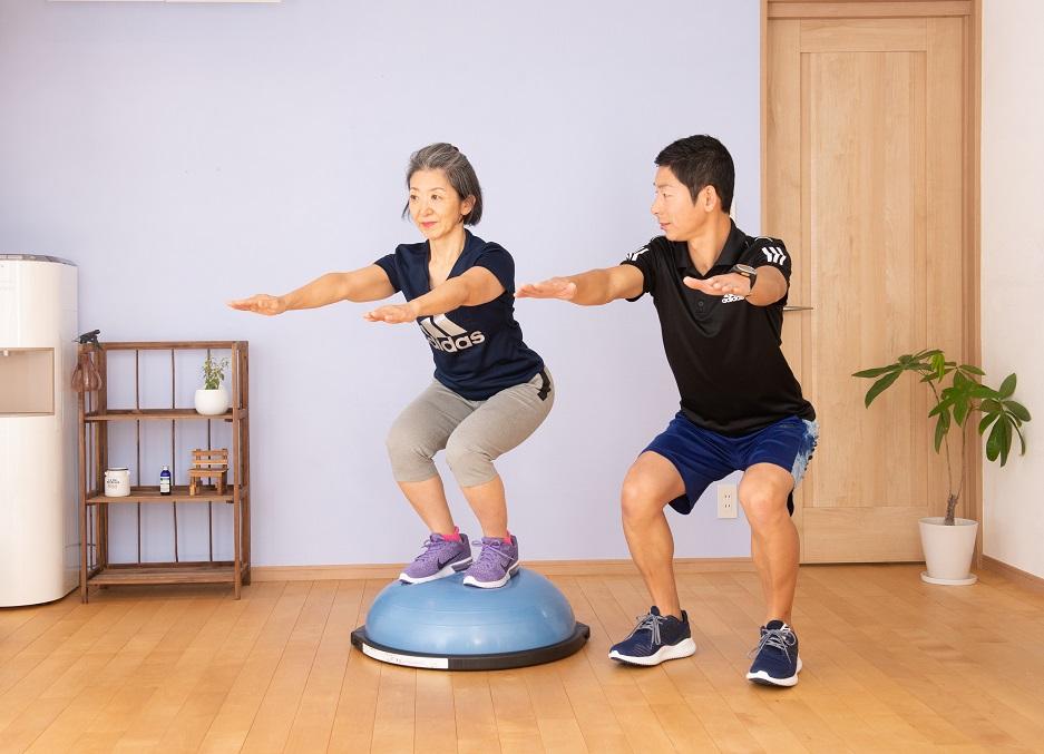高齢者のパーソナルトレーニングのポイントのイメージ